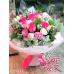 6 Kenya Dark Pink Roses Seasonal Flowers Bouquet